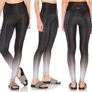 Beyond Yoga Fade To Black High-Waist Leggings Grey